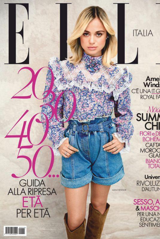 AMELIA WINDSOR in Elle Magazine, Italy July 2020