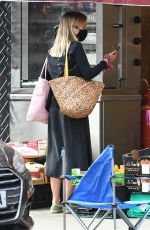 AMELIA WINDSOR Out Shopping in Notting Hill 07/29/2020