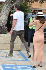 ANA DE ARMAS and Ben Affleck at Nobu in Malibu 07/25/2020