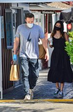 ANA DE ARMAS and Ben Affleck Pick Up Lunch to go in Brentwood 07/03/2020