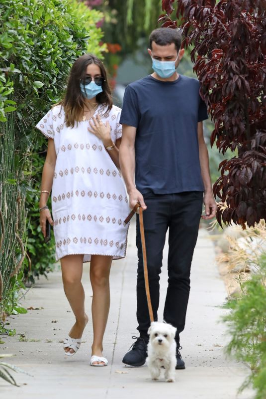 ANA DE ARMAS Out with Her brother Javier in Venice Beach 07/23/2020