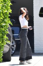ANA DE ARMAS Outside Her House in Brentwood 07/05/2020