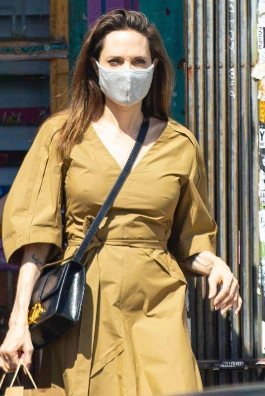 ANGELINA JOLIE at Shopping Soap Plant + Wacko in Los Angeles 07/03/2020