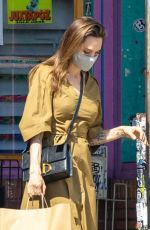 ANGELINA JOLIE at Shopping Soap Plant + Wacko in Los Angeles 07/03/2020