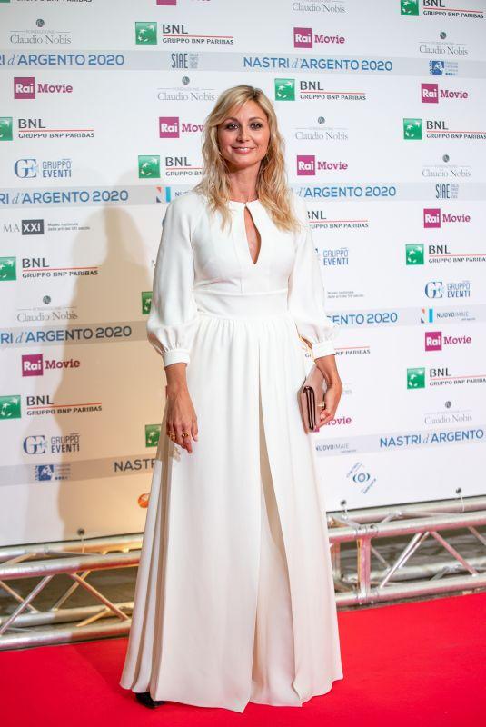 ANNA FERZETTI at Nastri D'Argento Awards in Rome 07/06/2020