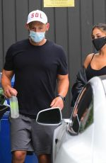 ARIANA GRANDE Wearing a Mask Out in Los Angeles 07/01/2020