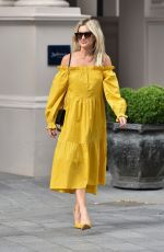 ASHLEY ROBERTS Arrives at Global Radio in London 07/28/2020