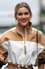 ASHLEY ROBERTS Leaves Heart Radio Studios in London 07/08/2020