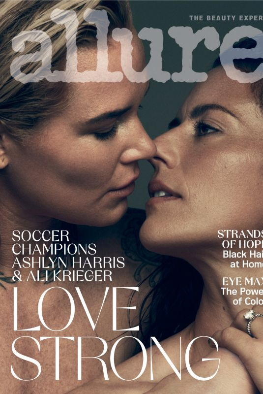 ASHLYN HARRIS and ALI KRIEGER in Allure Magazine, August 2020