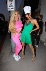 BAI LING and MARCELA IGLESIAS Out in Beverly Hills 07/25/2020