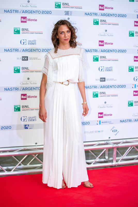 BARBARA CHICHIARELLI at Nastri D'Argento Awards in Rome 07/06/2020