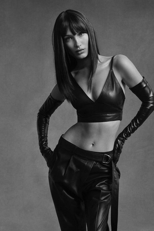 BELLA HADID for Helmut Lang