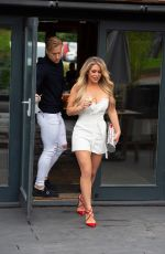 BIANCA GASOIGNE and Kris Boyson Out in London 07/07/2020