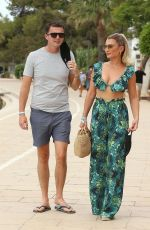 BILLIA FAIERS Out on O Beach in Ibiza 07/14/2020