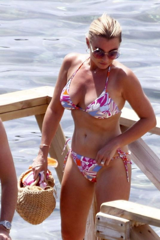 BILLIE FAIERS in Bikini at a Beach 07/15/2020