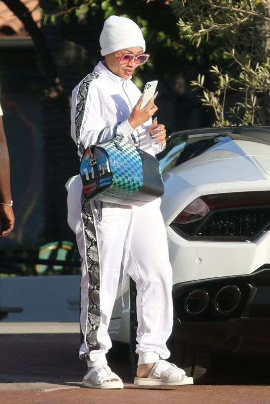 BLAC CHYNA Shopping at Chrome Hearts Jewelry in Malibu 07/16/2020