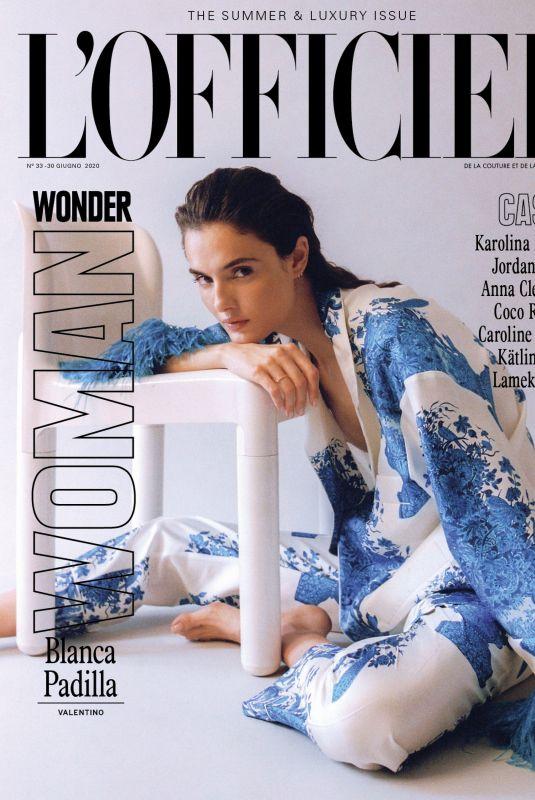 BLANCA PADILLA in L'Officiel Magazin, Italy Summer & Luxury Issue 2020