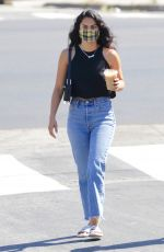 CAMILA MENDES in Denim Out with a Friend in Los Angeles 07/11/2020