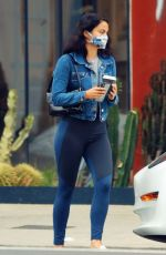 CAMILA MENDES Out for Coffee in Los Angeles 07/01/2020