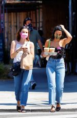 CAMILA MENDES Out for Coffee in Los Angeles 07/20/2020