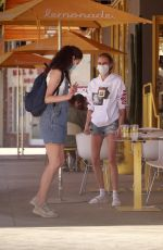 CARA DELEVINGNE and MARGARET QUALLEY Out for Lunch in Studio City 07/17/2020