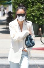 CARA SANTANA Out for Lunch at Urth Caffe in West Hollywood 06/30/2020