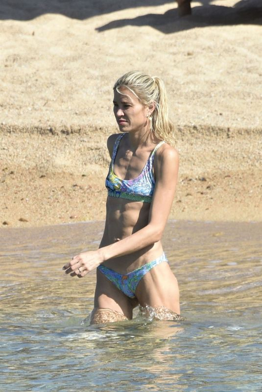 CARLA PEREYRA in Bikini at a Beach in Porto Cervo 07/20/2020