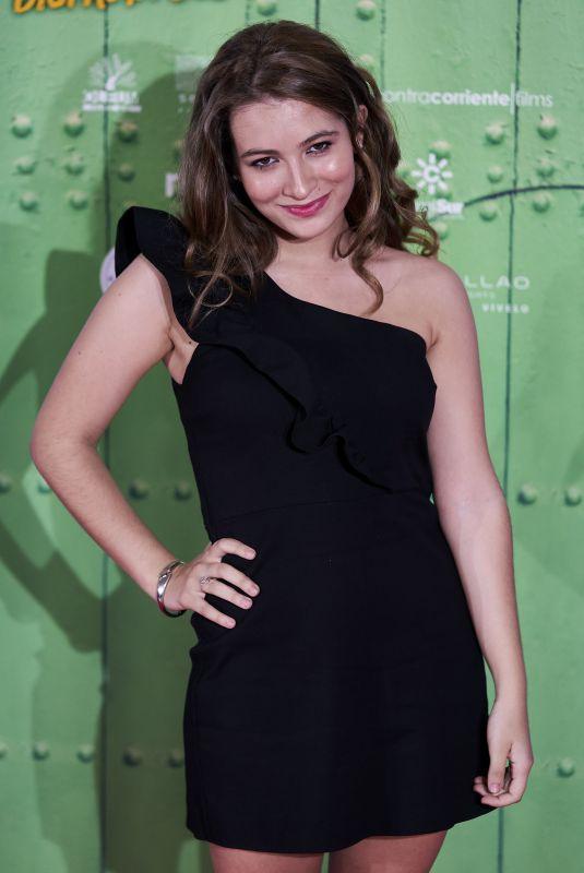 CARLOTA BOZA at La Lista De Los Deseos Premiere in Madrid 07/02/2020