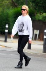 CAT DEELEY Out in London 07/16/2020