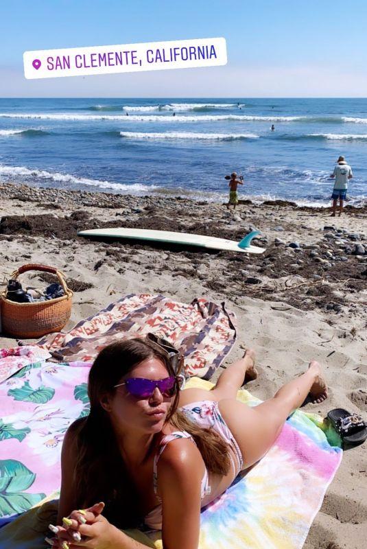 CHANEL WEST COAST in Bikini - Instagram Photos 07/21/2020