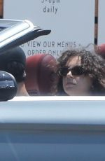 CHARLI XCX and Huck Kwong Out Driving in Los Feliz 07/14/2020