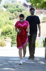 CHARLI XCX and Huck Kwong Out in Los Angeles 07/26/2020