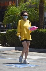 CHARLI XCX Leaves a Gym in Los Angeles 07/09/2020