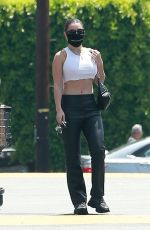 CHARLI XCX Out Shopping at a Grocery Store in Los Feliz 07/24/2020