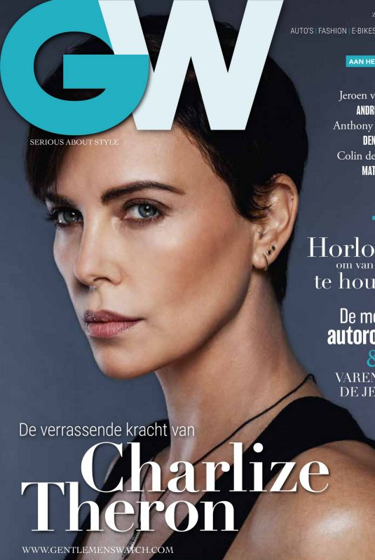 CHARLIZE THERON in Gentlemens Watch Magazine, July 2020