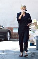 CHARLIZE THERON Out Shopping in Los Angeles 07/21/2020