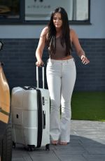 CHARLOTTE CROSBY and SOPHIE KASAEI Leaves for Ibiza 07/12/2020