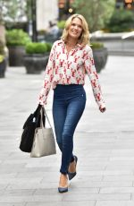 CHARLOTTE HAWKINS Arrives at Classic FM Studios in London 07/16/2020