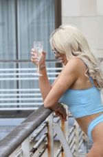 CHLOE FERRY Chilling on Her Balcony 07/17/2020