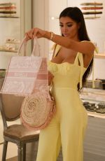 CHLOE KHAN Out Shopping in Marbella 07/26/2020