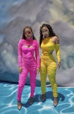 CHLOE X HALLE At a Photoshoot, 07/16/2020