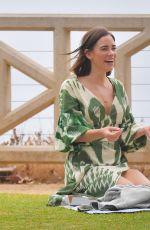 CHRISTA B ALLEN at a Picnic in Santa Monica 07/30/2020