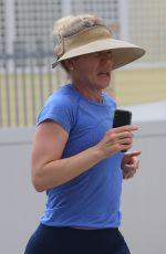 CHRISTINA APPLEGATE Out Jogging in Malibu 07/06/2020