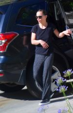 CHRISTINA RICCI Out and About in Los Angeles 07/07/2020
