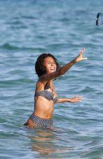 CINDY BRUNA in Bikini at a Beach 07/03/2020