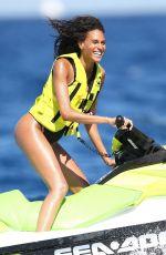 CINDY BRUNA in Swimsuit at a Beach in France 04/07/2020