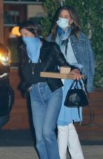 CINDY CRAWFORD Out for Dinner at Soho House in Los Angeles 07/29/2020