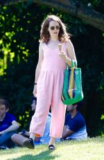 CLAIRE FOY Out at a Park in London 06/23/2020
