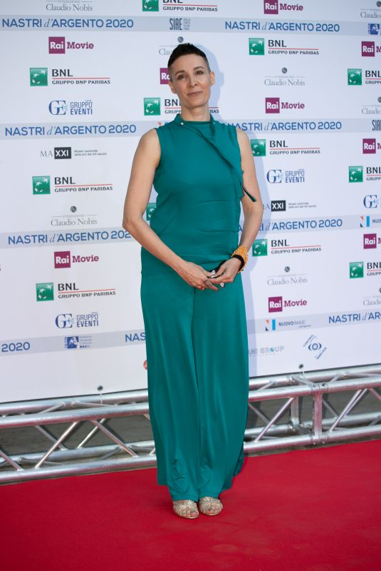 CLAUDIA CATANI at Nastri D'Argento Awards in Rome 07/06/2020