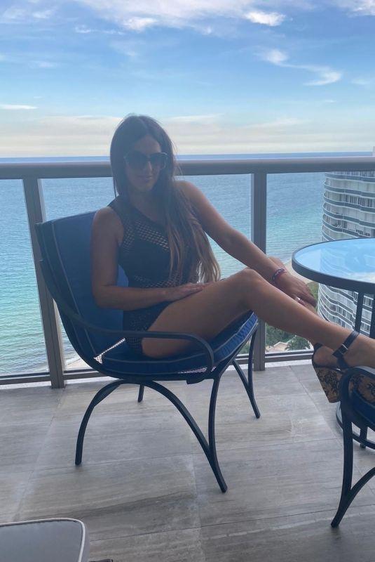 CLAUDIA ROMANI in Bikini at St Regis Resort in Bal Harbor 07/20/2020